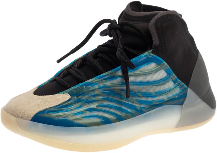 Adidas Yeezy QNTM BSKTBL Frozen Blue Sneakers Size EU 38 2/3 US 6