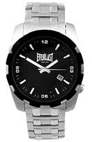 Everlast men's Quartz Watch Analogue Display and Stainless Steel Strap 49-0071-502