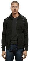 Kenneth Cole New York Men's Mesh Full Zip Hood