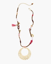 Chico's Kyla Short Pendant Necklace