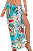 Luli Fama Wild Heart Pareo In Multicolor (L510669)