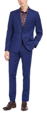 Billy London Men's Slim-Fit Performance Stretch Suits