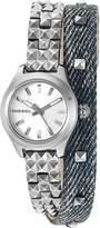 Diesel Women's DZ5446 Kray Kray Analog Display Analog Quartz Blue Watch
