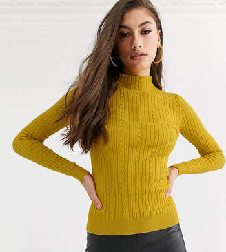 Fashion Union Tall ribbed slim fit jumper