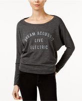 William Rast Veruca Dream Acoustic Graphic Sweatshirt