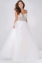 Jovani Sweetheart Neckline Embellished Bodice Prom Ballgown JVN47548