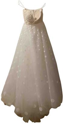 Oscar de la Renta White Lace Dresses