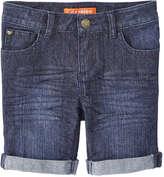 Joe Fresh Toddler Girls' Denim Bermuda Short, Dark Wash (Size 5)