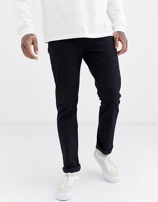 Levi's Levis Skateboarding Skateboarding 511 Slim 5 pocket jeans in black