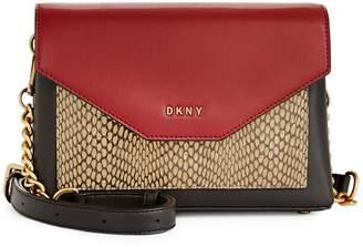 DKNY Alexa Leather Crossbody Bag