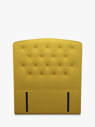 John Lewis & Partners Rouen Full Depth Upholstered Headboard, Small Double