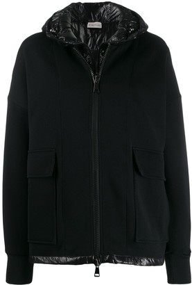 Moncler Zipped Double-Layered Jacket