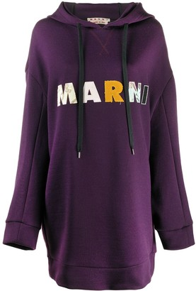 Marni Logo Patch Jumper Dress