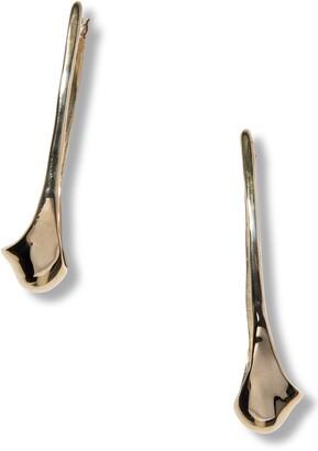 FARIS Frond Hoop Earrings