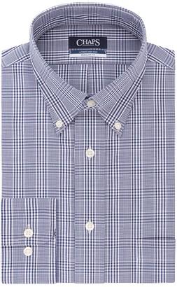 Chaps Men's Regular-Fit Elite Performance Ultimate Non-Iron Stretch Button-Down Collar Dress Shirt