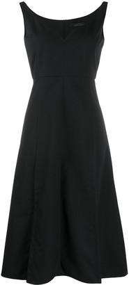 Rokh Flared Sleeveless Dress