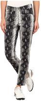 Bogner Vilma-G Snake Print Ankle Pants