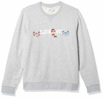 Lacoste Men's Sport Novak Djokovic Collab Crewneck Sweatshirt