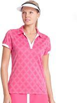 Izod Women's Jacquard Golf Polo