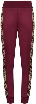 Fendi Logo-Stripe Track Pants