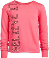 Ideology Big Girls Graphic-Print Sweatshirt, Created for Macy's
