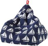 Linen House Outdoor Bean Bags Oceanic Outdoor Bean Bag Cover, Small