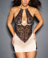 Gold & Black Mary-Kate Underwire Chemise