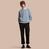 Burberry Unisex Pigment-dyed Cotton Oversize Sweatshirt