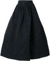 Sofie D'hoore panelled flared skirt