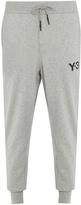 Y-3 Logo-print cotton track pants