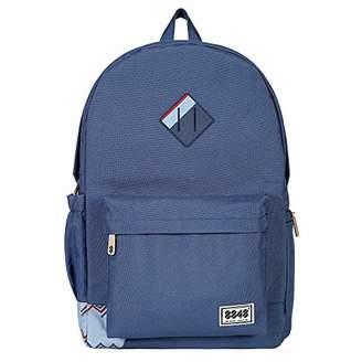 "Fashion Waterproof Travel Laptop Backpack for Teenager School Rucksack Fit 15.6"" ()"