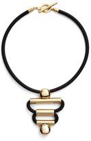 Trina Turk Sculptural Frontal Necklace