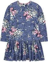 MonnaLisa Velvet dress