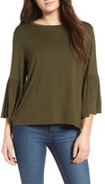 Leith Women's Ruffle Sleeve Blouse