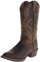"Justin Boots Men's Silver Collection 13"" Western"