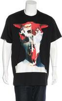 Givenchy Demon Graphic Print T-Shirt