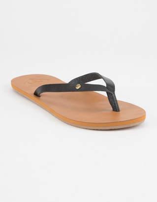 Roxy Jyll II Black Womens Sandals