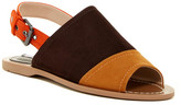 Charles David Zianna Suede Colorblock Sandal