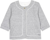 Chloé Quilted cotton jacket 6-36 months