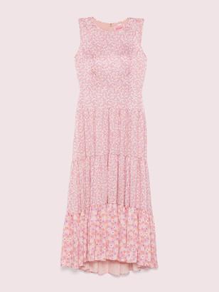 Kate Spade Poppy Field Tiered Dress