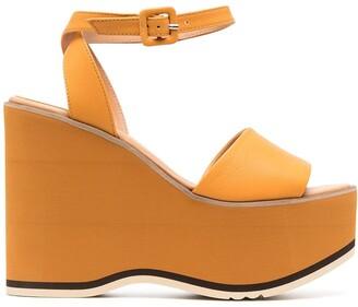 Paloma Barceló 125mm Wedge Sandals
