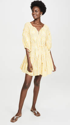 Innika Choo Frill Smock Cover Up Dress
