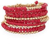Anna & Ava Beaded Coil Bracelet