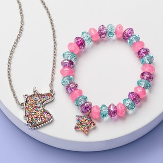 Girl' Unicorn Bracelet and Necklace et - More Than MagicTM