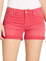 Jessica Simpson Solid Folded-Cuff Shorts