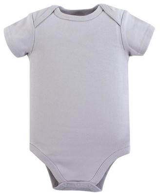 Luvable Friends Baby Boy or Girl Unisex Baby Cotton Bodysuits, 5-Pack