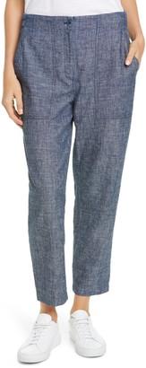 Eileen Fisher Organic Cotton & Hemp Pants