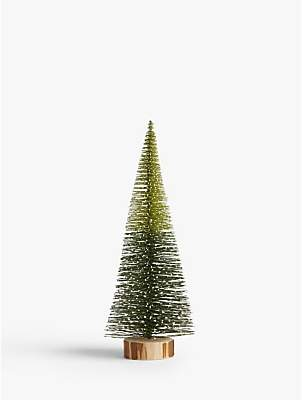 John Lewis & Partners Garden Retreat Conical Christmas Tree Standing Decoration, Small
