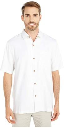 Tommy Bahama Aloha From Paradise Panelback Camp Shirt (Continental) Men's Clothing
