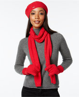 Calvin Klein Super-Soft Pom Pom 3-Pc. Gift Set